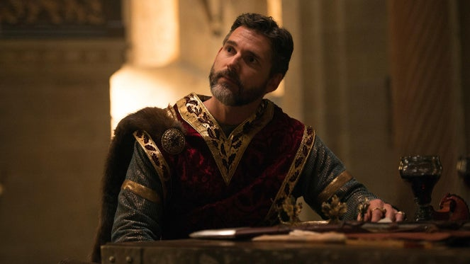 Eric Bana as Uther Pendragon in King Arthur Legend of the Sword