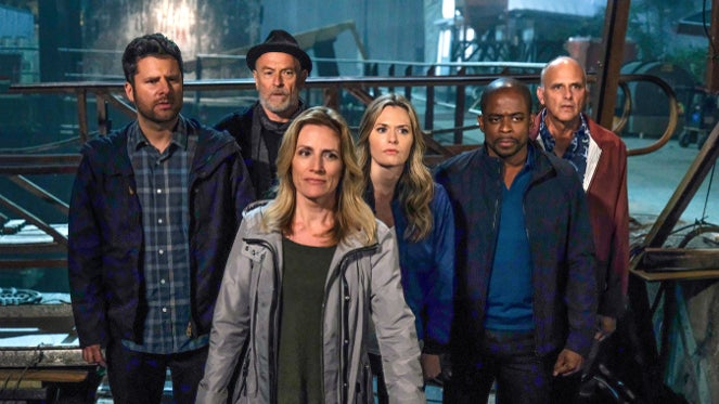 Psych creator wants movies to follow fast and furious franchise psych the movies cast image sdcc 2017 malvernweather Image collections