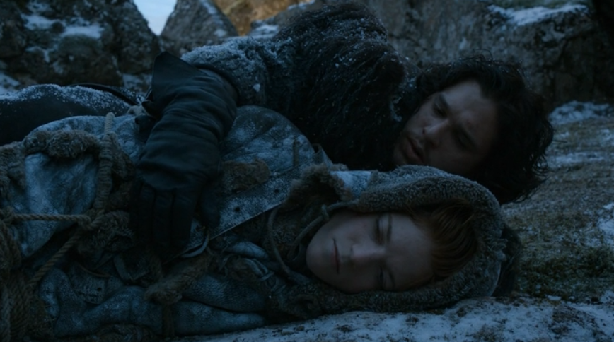 jon ygritte game of thrones