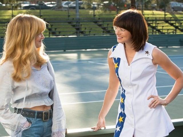 Larry King Calls 'Battle of the Sexes' Lesbian Subplot 'Total BS'