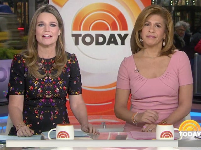 Watch 'Today' Hosts Hoda Kotb and Savannah Guthrie Fall Multiple Times During Olympic Ski Lessons