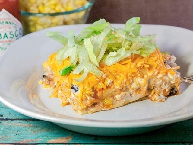 Recipe: Turkey Enchilada Casserole