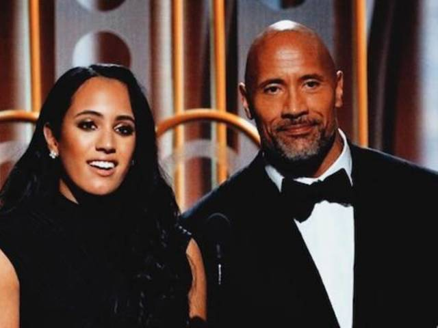 Dwayne 'The Rock' Johnson's Daughter Stuns at the Golden Globes