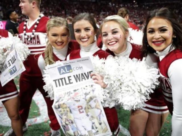 National Championship Viewer Delivers Sick Burn About Alabama's First Half Performance