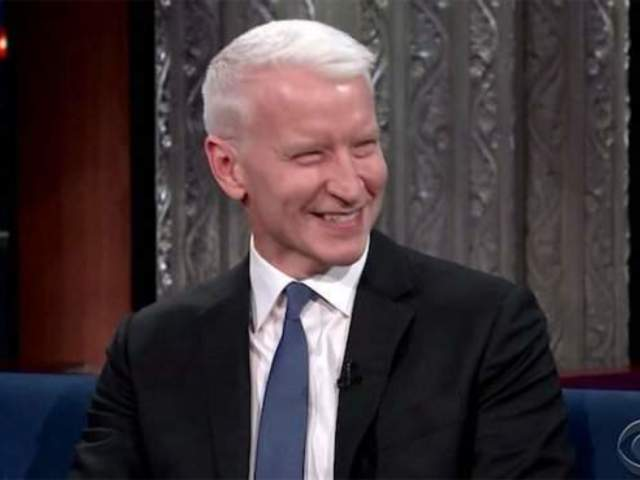Anderson Cooper Caught off Guard by CNN Marijuana Bus Segment