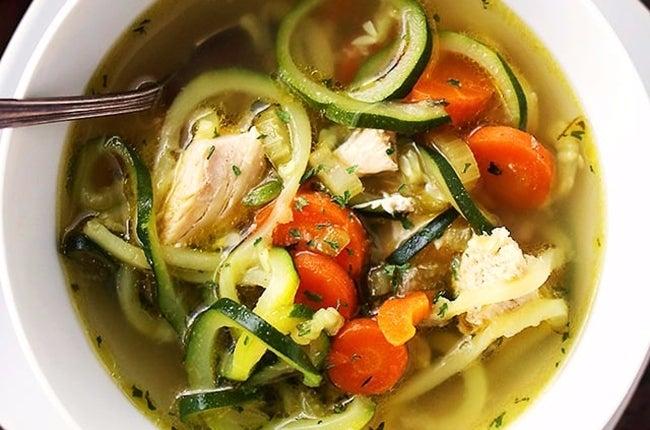 Chicken-Zucchini-Soup