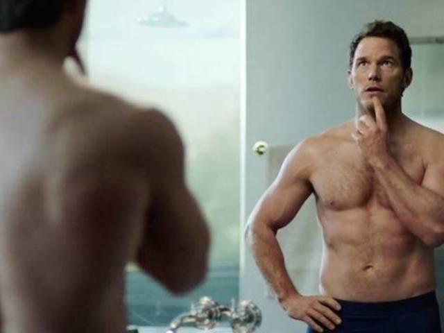 Chris Pratt Flaunts Chiseled Figure in Super Bowl Ad