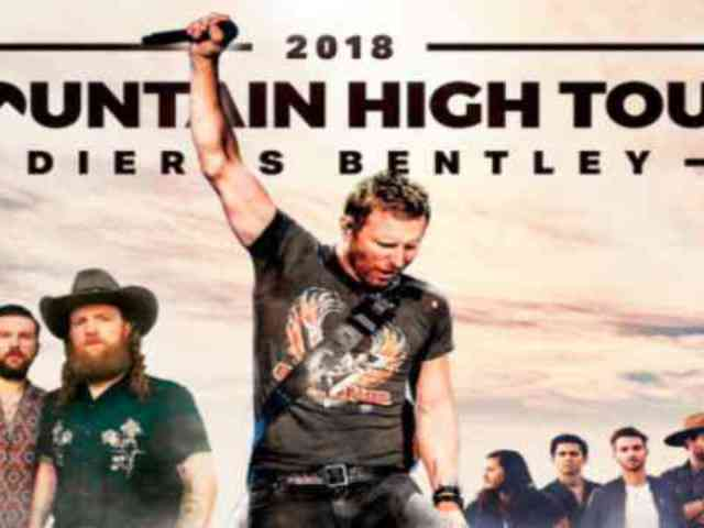 Dierks Bentley Announces 2018 Mountain High Tour With Brothers Osborne and LANCO