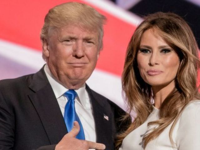 President Trump Gives Another Melania Update After Hospitalization and 'Kidney Procedure'