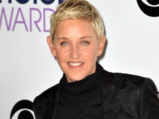 Ellen DeGeneres Shows Her Support for Oprah's Golden Globes Speech