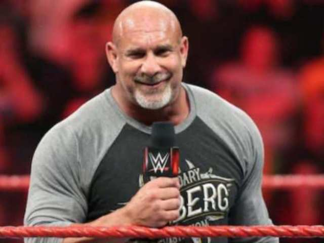 Goldberg Teases WrestleMania Match with Kurt Angle