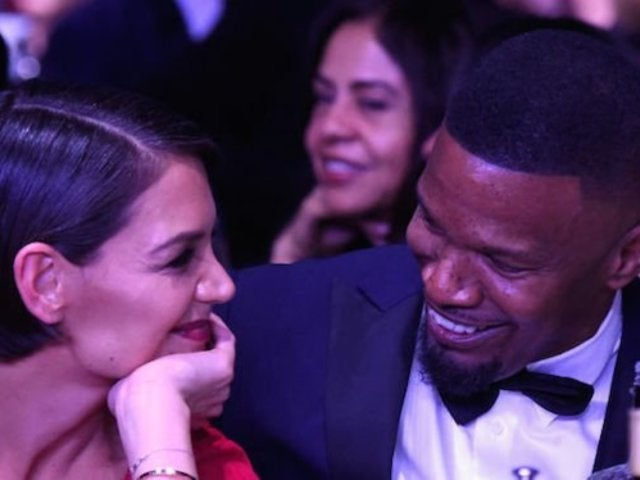 Katie Holmes and Jamie Foxx Get Close at Pre-Grammys Party