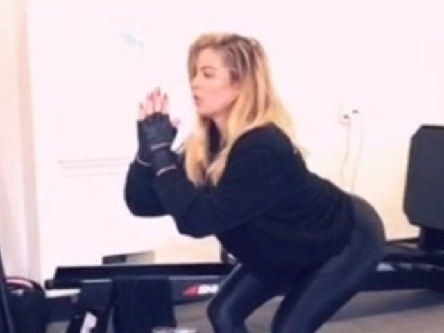 Khloe Kardashian Displays Her Own Workout Advice: 'Aim Small'