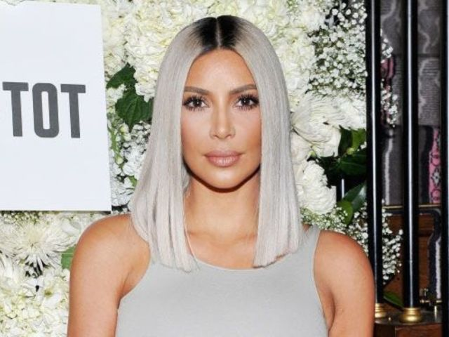 Kim Kardashian Shows off Baby Girl's Custom Clothing