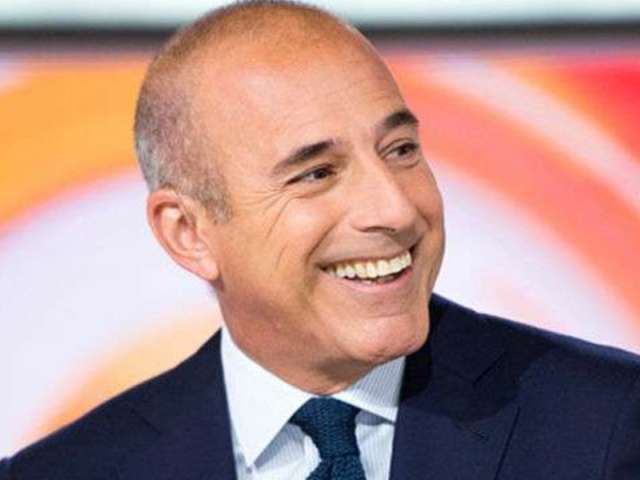 Matt Lauer Reportedly Once Joked About Sleeping With Interns