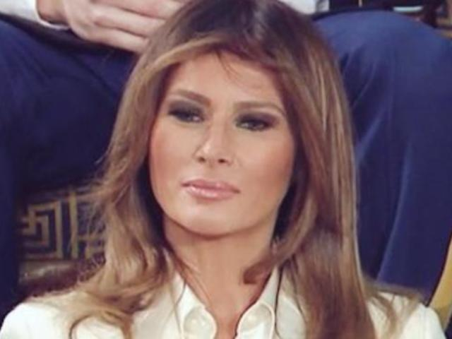 Melania Trump Not Allowed Outside, According to French First Lady