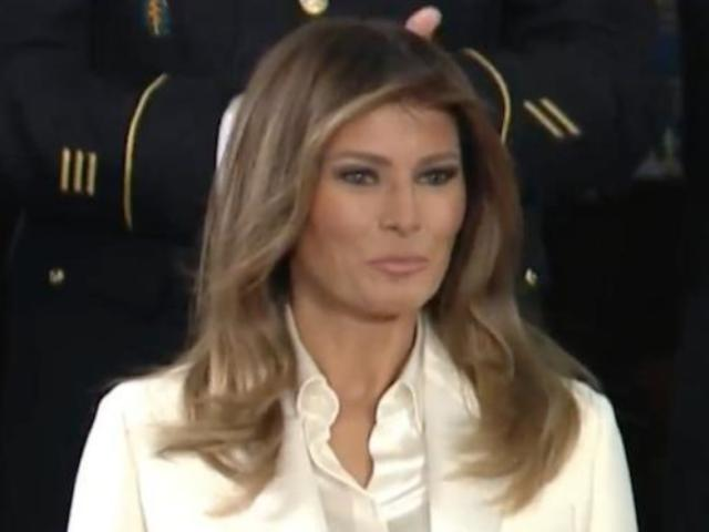 Melania Trump 'Focused on Being a Mom' at Mar-A-Lago After Stormy Daniels Bombshell