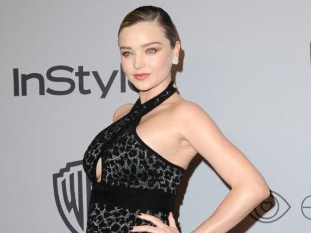Miranda Kerr Debuts Baby Bump at Golden Globes After Party