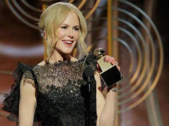 Nicole Kidman Slammed for Snubbing Adopted Children From Acceptance Speech