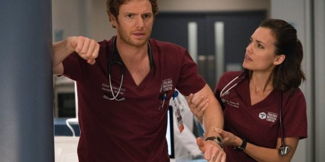'Chicago Med': Torrey DeVitto Teases 'Manstead' Conflict in Upcoming Episodes