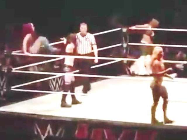 Watch the Sasha Banks Kick that Ended Paige's WWE Career