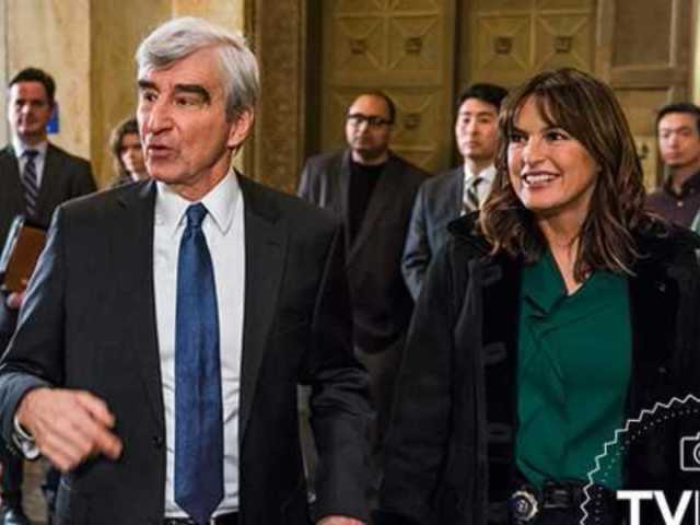 First Look at Sam Waterston's Return to 'Law and Order: SVU'