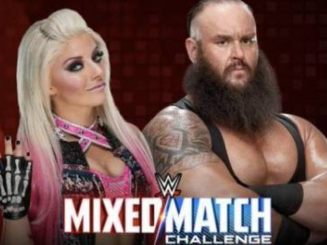 Braun Strowman and Alexa Bliss Announced as First Pairing for WWE's 'Mixed Match Challenge'