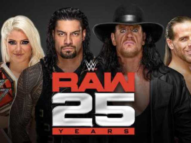 RAW's 25th Anniversary Show Already Packed with WWE Legends