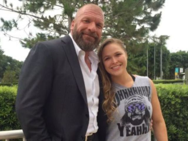 Triple H Chooses Dinner with Ronda Rousey over Attending SmackDown