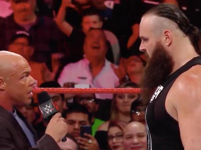 Kurt Angle Fires Braun Strowman to Start RAW