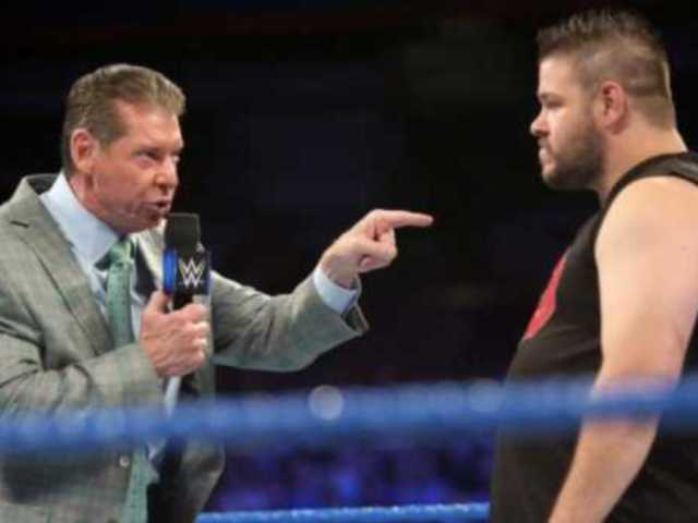 Kevin Owens Says Vince McMahon Berated him with Foul Language During Infamous Head-butt Segment