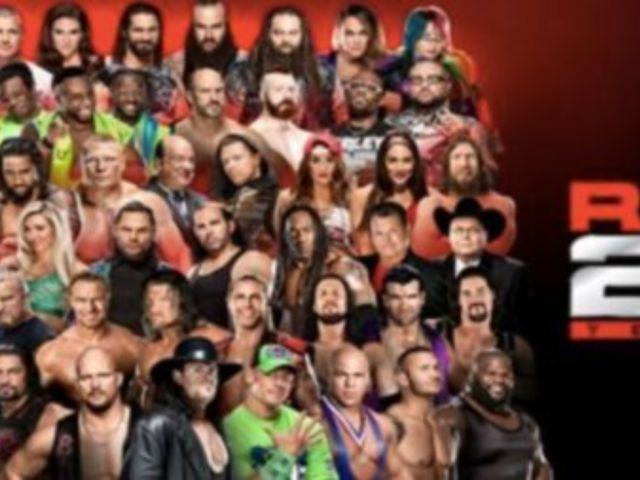 Here's the Full List of WWE Legends Coming to RAW 25