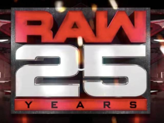 Here's a Sneak Peak at RAW 25's Opening Video