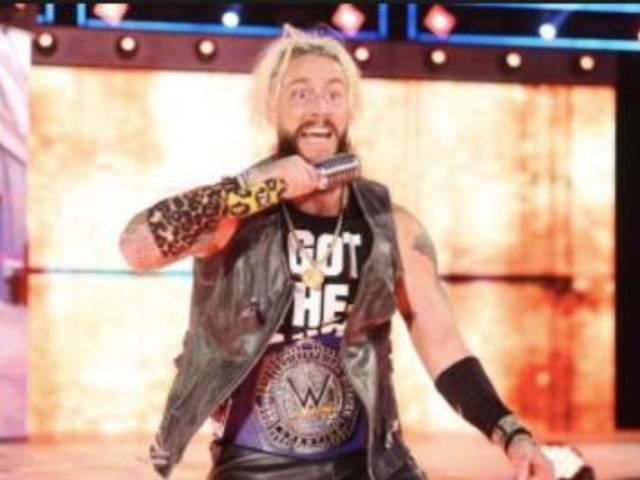 Enzo Amore Wore the Most Ironic T-Shirt of All Time to Raw 25