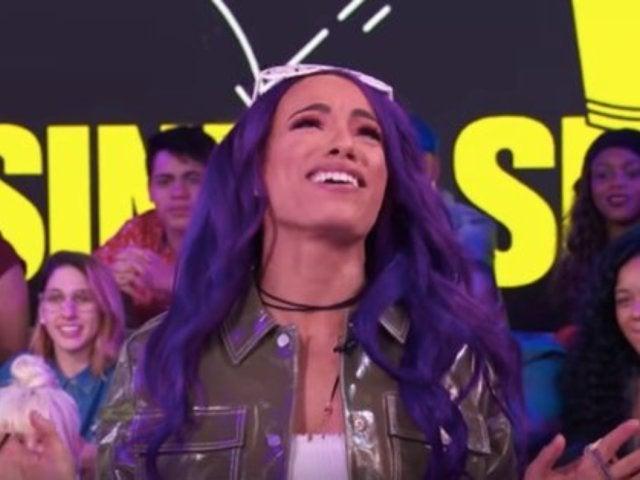 Sasha Banks Talks Her WWE Crush, Farts, and Asuka on MTV's 'TRL'