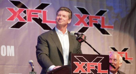 Vince McMahon announces new XFL football league