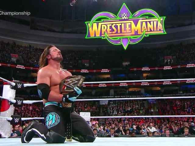 AJ Styles Retains WWE Title at the Royal Rumble