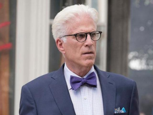Ted Danson Revealed 'Good Place' Season 1 Secret to John Krasinski
