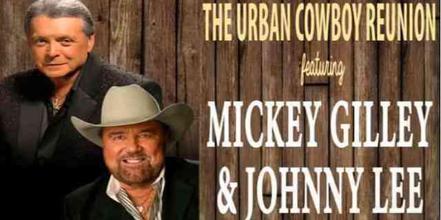 Mickey Gilley, Johnny Lee Announce Urban Cowboy Reunion Tour