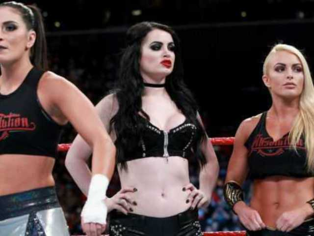 Injured Paige Wishes Fellow Female Superstars Luck Ahead of Women's Royal Rumble Match