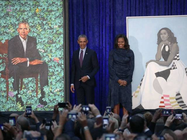 Obama Portraits Inspire Amusing Memes on Twitter