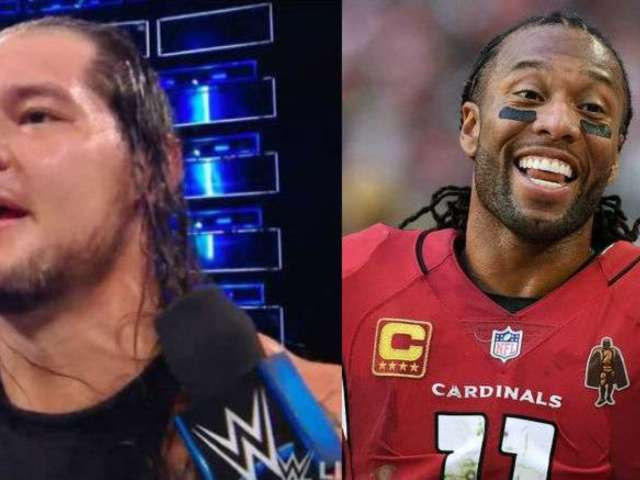 Baron Corbin Takes Shot at NFL Star Larry Fitzgerald, Gets Harsh Response