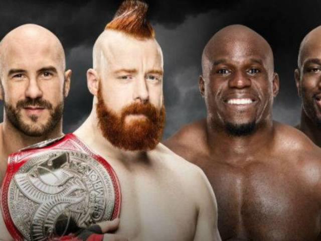 The Bar Retain Their Raw Tag Team Championships Against Titus Worldwide