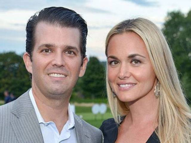 Vanessa Trump Spotted Without Wedding Ring After Filing for Divorce From Donald Trump Jr.