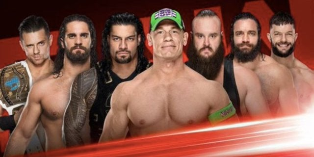 Elimination  Chamber WWE John Cena Roman Reigns