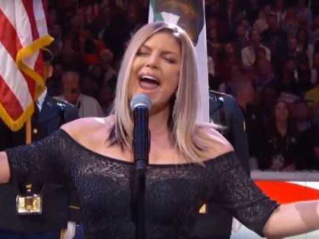 Roseanne Barr Compares Fergie's National Anthem to Her Infamous 1990 Rendition