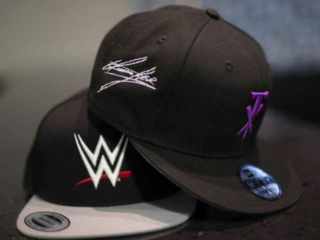 LIDS and WWE Partner Up for Headwear Collection