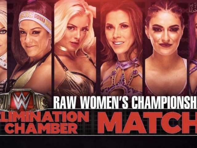 First Ever Women's Elimination Chamber Field Set on RAW