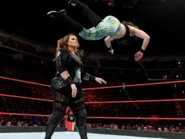 Nia Jax Dominant Victory From RAW Came Against High Schooler