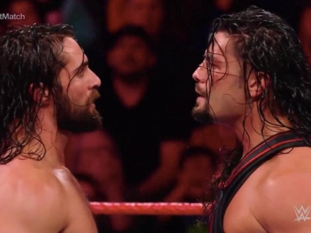 Seth Rollins Eliminates Roman Reigns in Gauntlet Match Opener